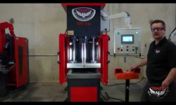 RMT H-FAB 110-C Hydraulic C Frame Press Machine Overview